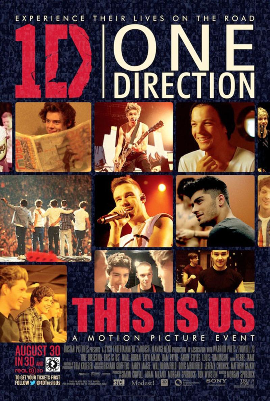 One Direction presenta el póster de su nueva película
